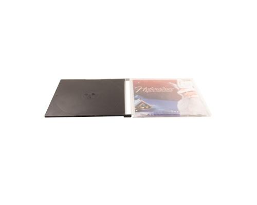 Slim box CD черный трей. Новогоднее приключение 2019