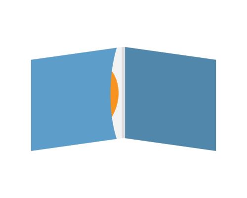DigiSleeve CD 4 полосы 1 карман (внутренний слева)