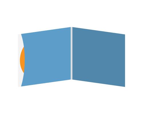 DigiSleeve CD 4 полосы 1 карман (внешний слева)
