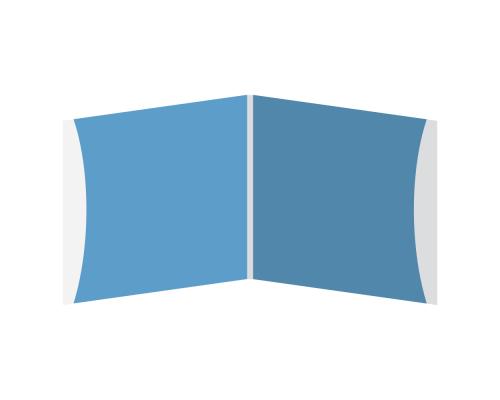 DigiSleeve CD 4 полосы 2 кармана (внешние)