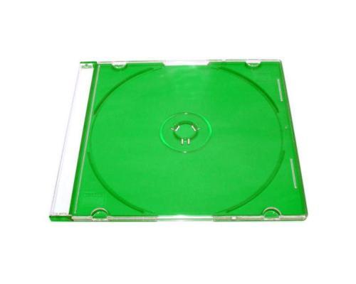 Slim Box CD зеленый