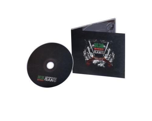 Диджипак CD 4 полосы 1 трей. Advertising GANG