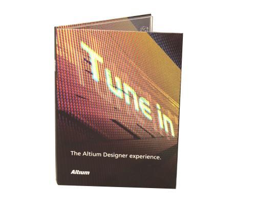 Диджипак DVD  4 полосы 1 трей. Altium