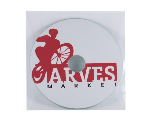 Пластиковый прозрачный конверт. ARVES MARKET