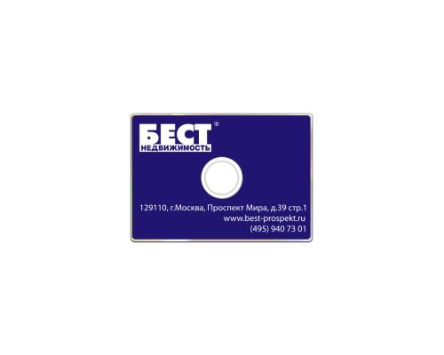 Тиражирование CD визиток (Шелкография)