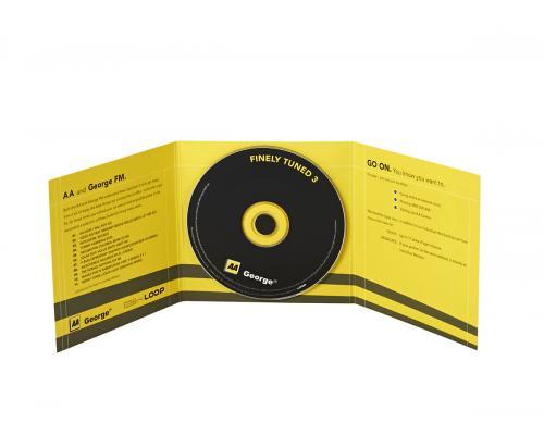 Диджипак CD 6 полос 1 спайдер. George