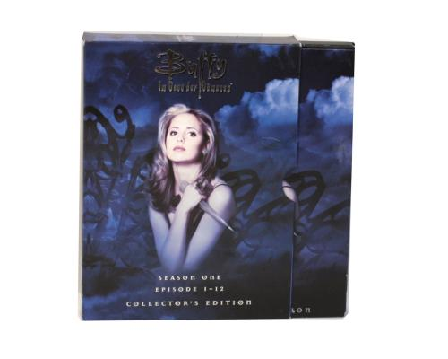 Диджипак DVD 10 полос 3 трея. Buffy