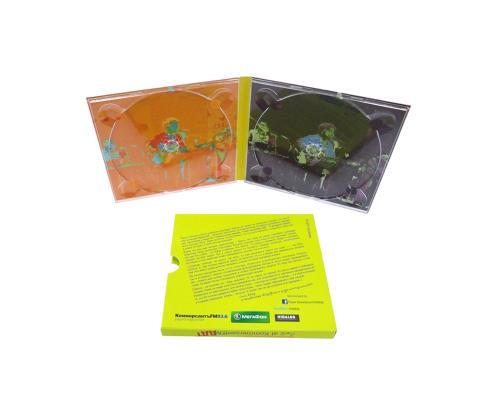 Диджипак CD 4 полосы 2 трея. Слипкейс. ДДТ