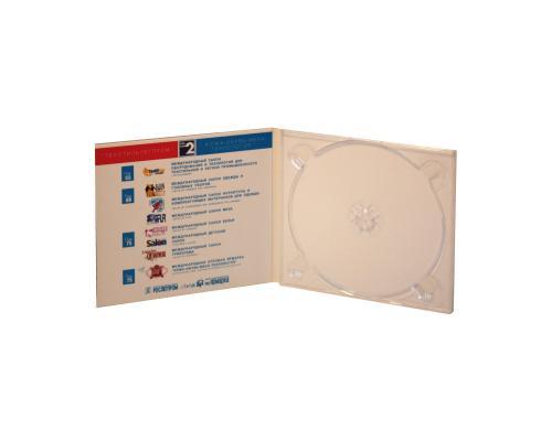 Диджипак CD 4 полосы 1 трей. Федеральная оптовая ярмарка