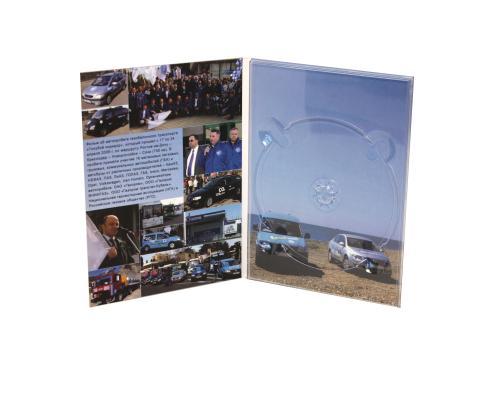 Диджипак DVD 4 полосы 1 трей. Газпром - Автопробег