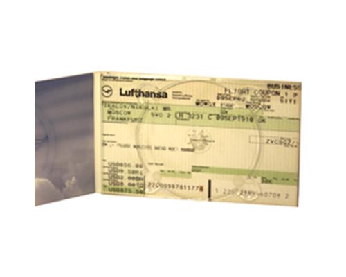 Диджипак DVD 4 полосы 1 трей. Lufthansa