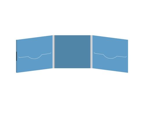 DigiFile CD 6 полос 2 прорези (слева / справа) на магните