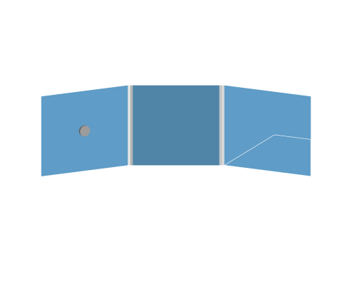 DigiFix CD 6 полос 1 спайдер (слева) с карманом для буклета (справа)