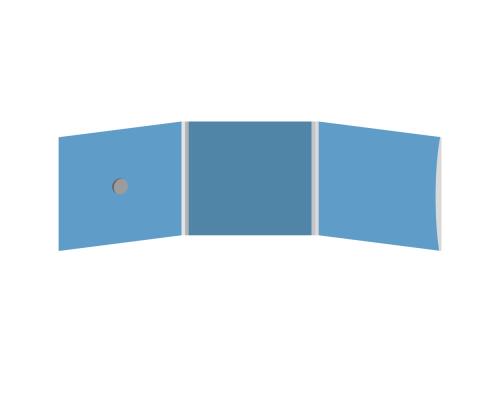 DigiFix CD 6 полос 1 спайдер (слева) с рукавом для буклета (справа)