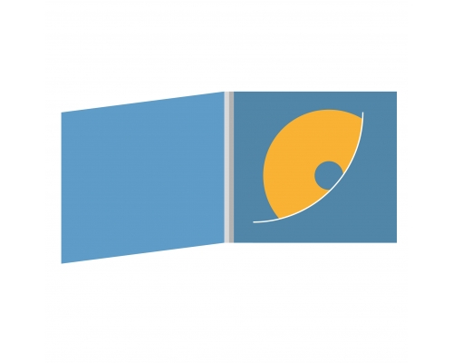 DigiFile CD 4 полосы 1 прорезь (диагонально)