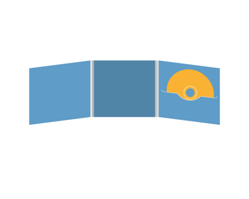 DigiFile CD 6 полос 1 прорезь (справа)