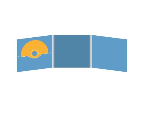 DigiFile CD 6 полос 1 прорезь (слева)