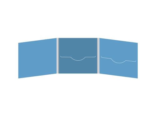 DigiFile CD 6 полос 2 прорези (в центре + справа)