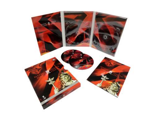 Диджипак DVD 6 полос 2 трея. Марис-Лиепа