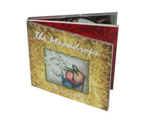Диджибук CD 4 полосы 2 трея, Буклет. Moondrops