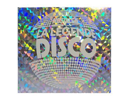 Диджипак CD 4 полосы 1 трей, Хромолюкс (металлизированный картон), Шелкография. Nostalgie