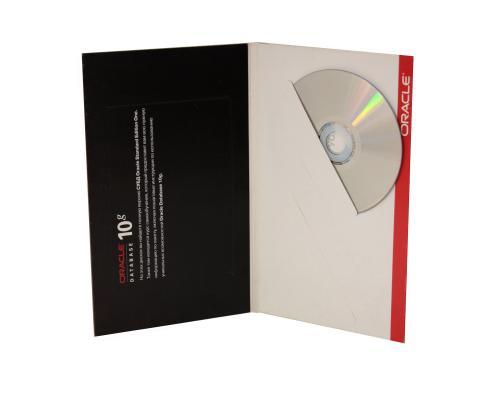 Диджипак DVD 4 полосы 3 прорези диагональные (справа). Oracle