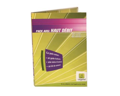 Диджипак DVD 4 полосы 1 трей с карманом для буклета. Cegetel