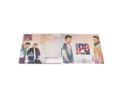 Диджипак CD 4 полосы 1 трей (справа), Potehin Band - Включай