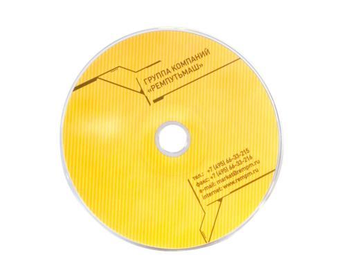 Диджипак CD 4 полосы 1 трей. Remputmash