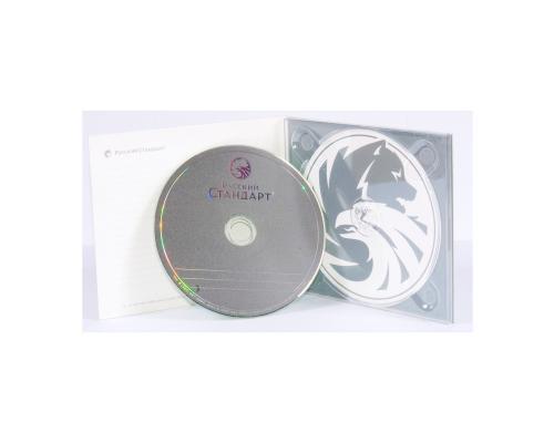Диджипак CD 4 полосы 1 трей. Русский Стандарт