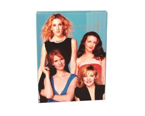 Диджипак DVD 6 полос 3 трея. Секс в большом городе 4