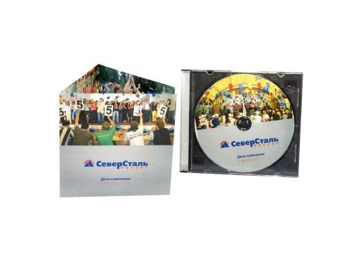 Slim box CD черный трей. Север сталь - День компании