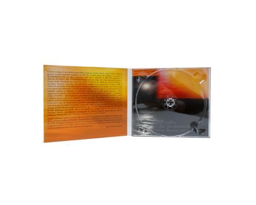 Диджипак CD 4 полосы 1 трей. Тиснение золотом. Orff Carmina Burana