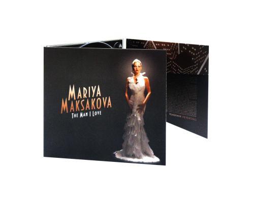 Диджипак СD 6 полосы 1 трей. Mariya Maksakova - THE MAN I LOVE