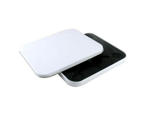 Tin Box CD квадратный белый