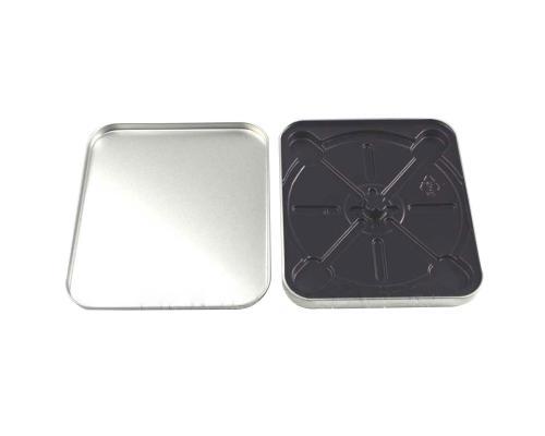 Tin Box CD квадратный серебряный