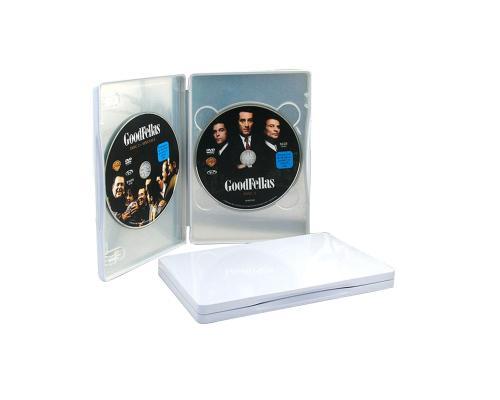 Tin Box DVD прямоугольный белый на 2 диска