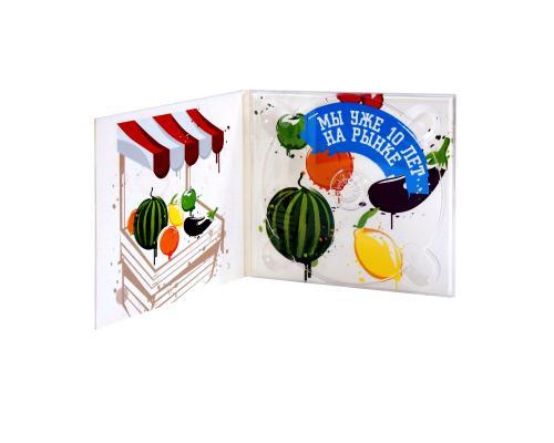 Диджипак CD 4 полосы 1 трей. Самые модные краски этого года