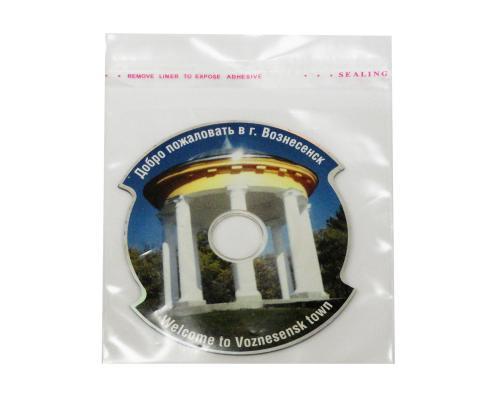 Прозрачный конверт MiniCD. Вознесенск