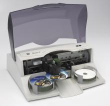 Струйная печать на дисках CD и DVD