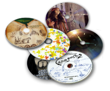 Цифровая печать на DVD дисках