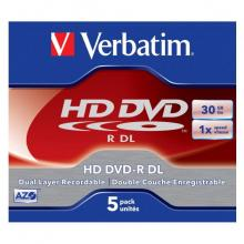 Новые высокотехнологичные диски HD-DVD компании Verbatim