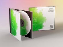Компакт-диск неотъемлем в корпоративном стиле