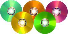 Новые диски Verbatim LightScribe DVD+R в пяти цветах